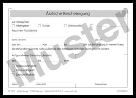 rztliche bescheinigung 1007024850 - Arbeitgeberbescheinigung Muster